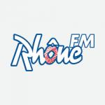 Logo: Rhône FM.